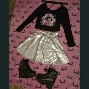Gothic Ponies Top Witch Hot Topic Killstar Kawaii